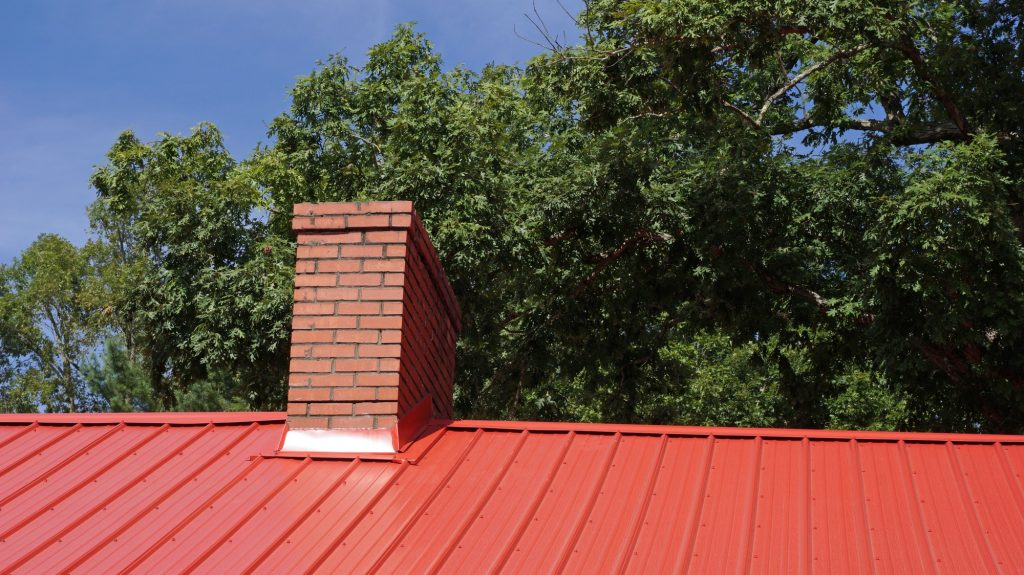 Metal Roofing Murfreesboro - Red Metal Roof